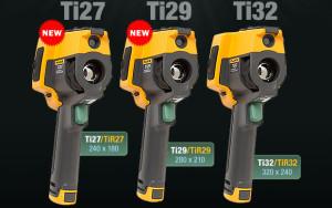 Nieuwe P3-serie warmtbeeldcamera's van Fluke