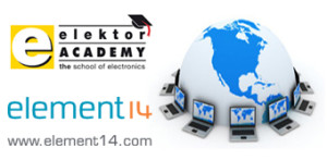 Elektor Academy/element14 webinar over twitteren met E-blocks