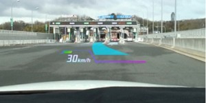 Grootste head-up display voor auto's