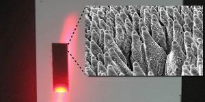 Zwart silicium verhoogt rendement van zonnecellen