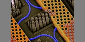 Silicium nanofotonica combineert licht en elektronica