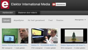Niets op TV? Bekijk een Elektor-video!