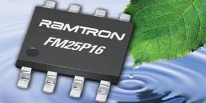 F-RAM met laagste energieverbruik