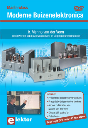 Nieuw: DVD Masterclass Moderne Buizenelektronica