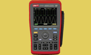 Draagbare oscilloscoop met multimeter-functies