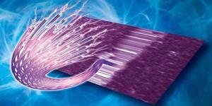 Plastic nanovezels geleiden elektrische stroom net zo goed als metaal