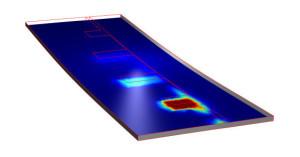 Informatiepakket met hoogfrequente elektromagnetische simulaties