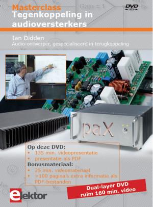 Nieuw: DVD Masterclass Tegenkoppeling in audioversterkers