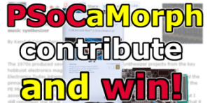 Ontwikkel mee aan het PSoCaMorph-project en win een PSoC 5 ontwikkelkit