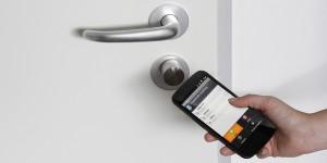 Deuren openen met een app