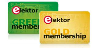 Elektor-lidmaatschapskaart met geheime chip