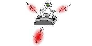Licht schakelen met één atoom