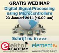 Elektor-webinar: Digital Signal Processing using Microcontrollers
