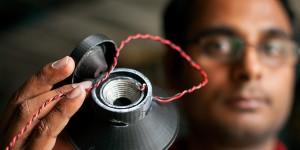 3D-printer produceert werkende luidspreker
