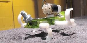 Terradynamica voorspelt robotbeweging in mul zand