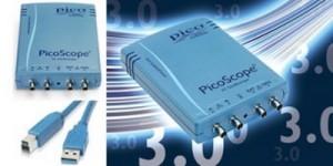 Eerste oscilloscoop met USB 3.0