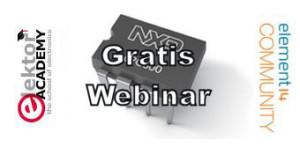 Gratis Elektor-webinar: Aan de slag met de LPC800 ARM Cortex-M0