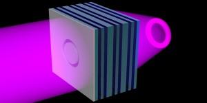 Platte lens projecteert 3D-beelden