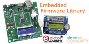 Elektor-webinar: Embedded Firmware Library