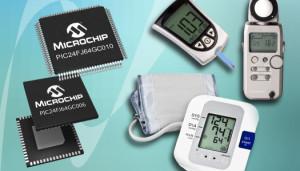 Eerste PIC microcontroller met 16-bits ADC en 10 Ms/s ADC