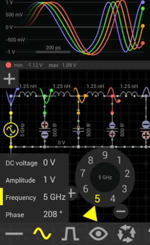 EveryCircuit: simulatieprogramma voor Android