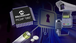 Microchip-PIC's met geïntegreerde encryptie-engine