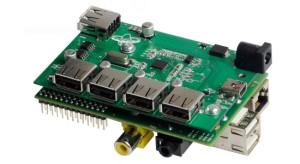 USB-hub voor Raspberry Pi