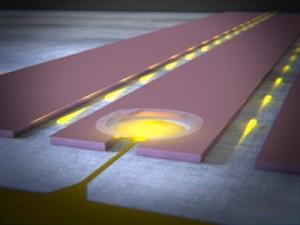 Grafeentrommeltjes als toekomstig kwantumgeheugen