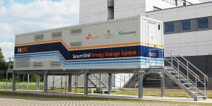 Opslag voor groene energie