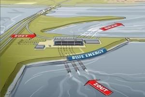 Eerste blauwe-energiecentrale ter wereld