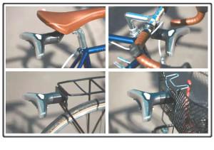 Blinkers: Slim fietslicht met richtingaanwzijzers, remlicht en afbakeningsaanduiding