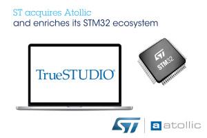 STMicroelectronics neemt Atollic over. Afbeelding: STMicroelectronics.