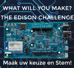 Stem op uw favoriete project bij de Intel Edison wedstrijd