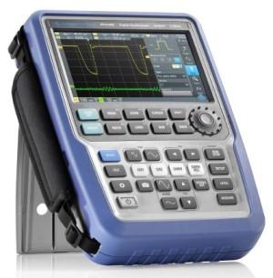 Portable oscilloscoop van R&S met high-end prestaties