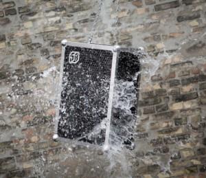 Portable speaker produceert 119 dB