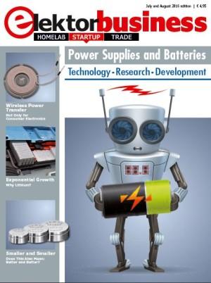 Net uitgekomen: Elektor Business Magazine over voedingen en batterijen
