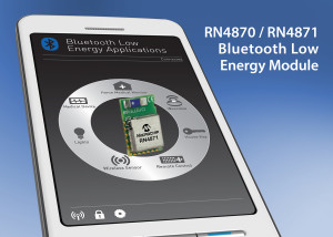 Bluetooth 4.2-modules van Microchip