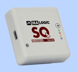 Review: ScanaQuad, de allerkleinste logic analyzer