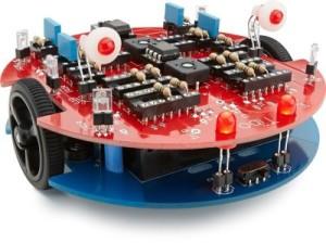 Tibo, een robot zonder microcontroller!