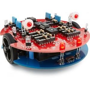Robot zonder microcontroller!