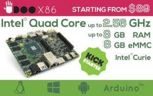 UDOO X86, 10 keer sneller dan een RPi3