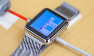 Windows 95 op een Apple Watch