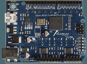 """""""Arduino Uno"""" met ATmega328 – in een FPGA"""
