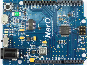 NerO, een energiezuinig Arduino-compatibel board