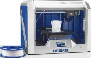 Test van de nieuwe 3D-printer van Dremel (3D40)
