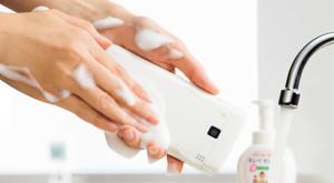 Eerste afwasbare smartphone ter wereld