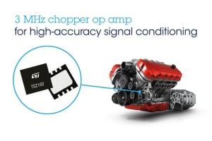Chopper-opamp met uitstekende snelheid/energie-verhouding