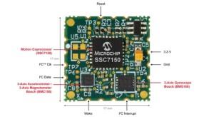 Nieuwe bewegingsmodule van Microchip