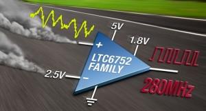 Snelle comparators met CMOS-uitgangen