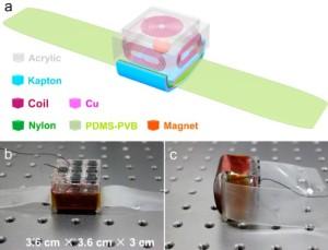 Hybride nanogenerator voedt e-watch